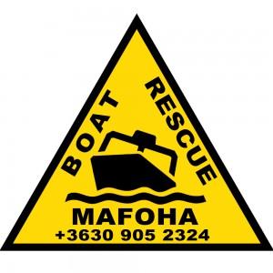 MAFOHA logo matrica tel