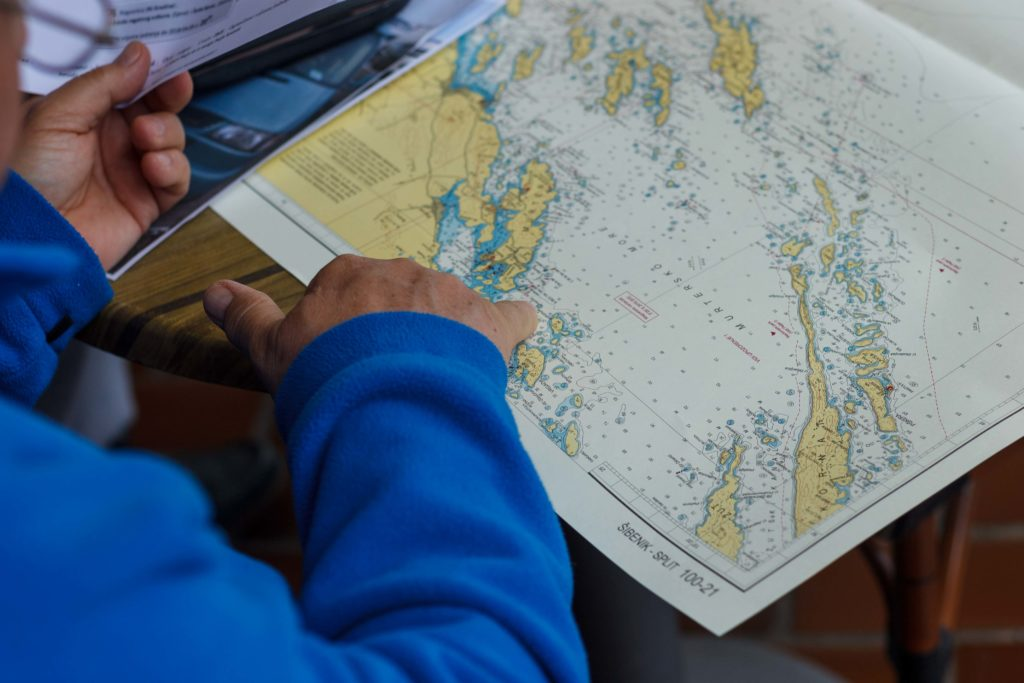 Tervezés a térképen