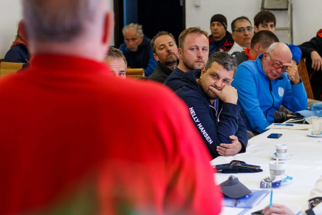 Első futam - Skipper értekezlet - Captains Adria Kupa