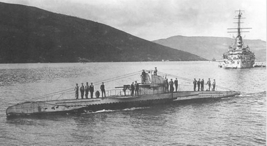 Megemlékezés Roediger-Schulga Miklós tengerész kapitányról - U31.-es tengeralattjárója