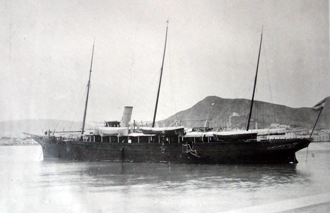 Lajos Szálvátor főherceg Nixe nevű yachtja