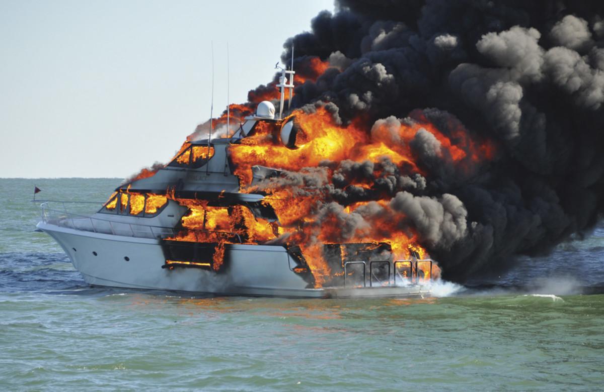 Hivatásos matróz tanfolyam magyarul (D2)- Robbanás és tűz - Captains Kft